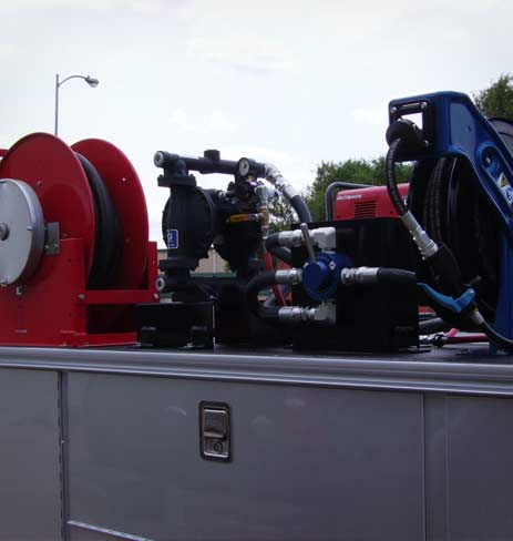 Truck And Tank Assembly